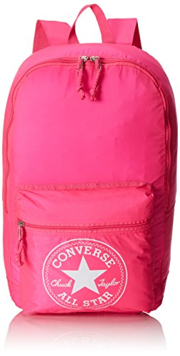Converse Ct Packable Ny Season Zaino, Unisex Adulto, Rosa Neon, 43X28X18