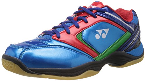 Yonex Excerol 301 Badminton Shoes, UK 5 (Blue/Green/Red)