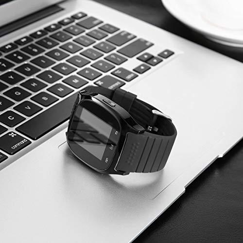 Momorain Nuovo aggiornamento M26 Smartwatch wireless Smart da polso Orologi digitali Sincronizza il telefono Mate per IOS per iPhone per telefoni Android