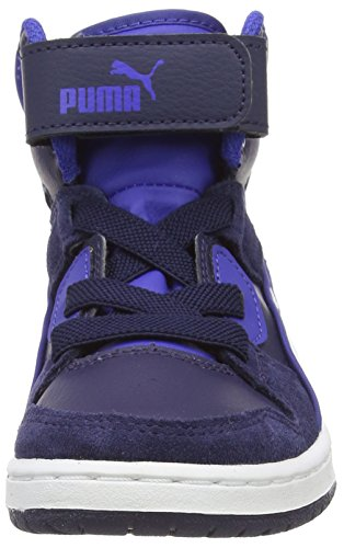 Puma Rebnd Streed Sd, Chaussures Premiers pas bébé garçon Bleu (Peacoat/Surf The Web)