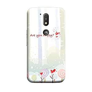 CaseLite Premium Printed Mobile Back Case Cover With Full protection For Moto G4 Plus (Designer Case)