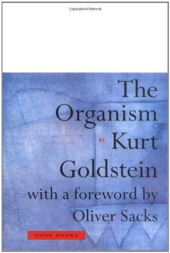 The Organism (Zone Books) por Kurt Goldstein