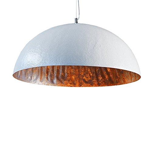 Invicta Interior Glow Stylische Hängeleuchte weiß silber 50cm -