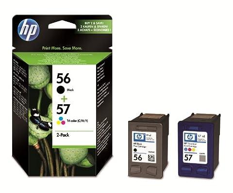 HP 56/57 Combo Pack Cartouche d