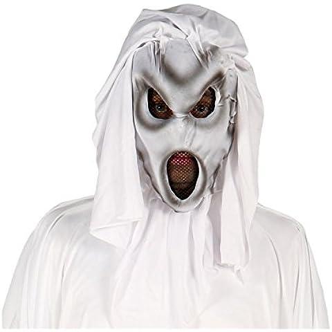 Disfrazzes - Careta o máscara de fantasma de la oscuridad para halloween
