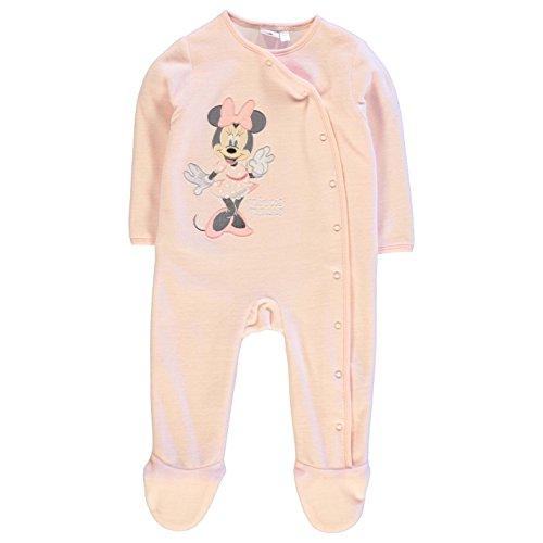 Character Kinder Baby Strampler Schlafanzug Strampleranzug Langarm Overall Minnie 3-6 Mnth (Mädchen-schlafanzug Braune)