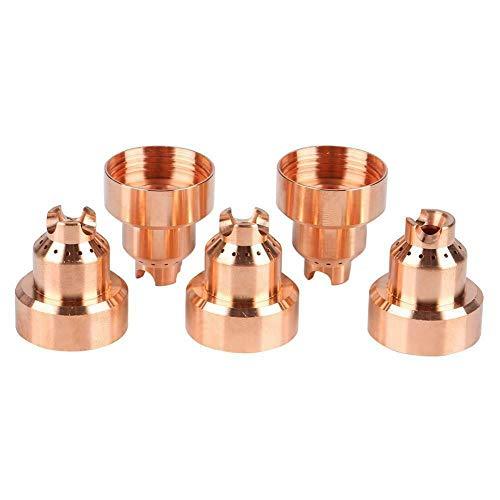Alffun 220818 Schutzkappe für Hypertherm Powermax 45XP 65 85 105 Plasma-Taschenlampen, 5 Stück