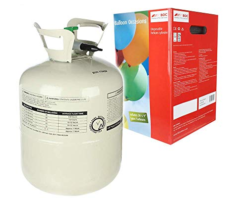 weg Heliumflasche XL 250 Liter für 30 Luftballons ()