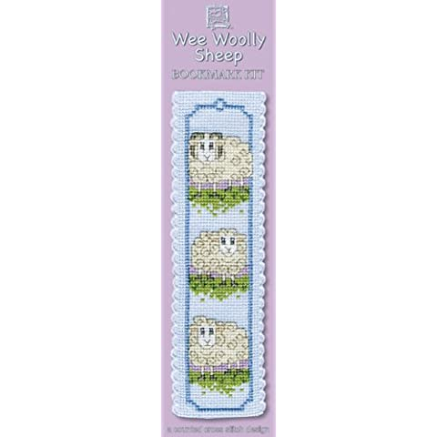 Textile Heritage Collection Cross Stitch Bookmark Kit