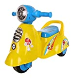 #7: Baby World Store Baby Ride-On Italian Scooter, Yellow (48 cm x 28 cm x 27 cm)