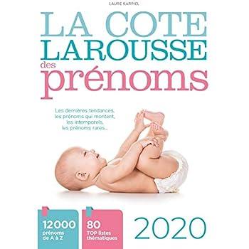 La cote Larousse des prénoms 2020