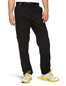 Craghoppers Men's Classic Kiwi Zip Off Convertible Walking Trousers - Black, Short-42 inch