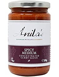 Anila`s Spicy Medium Curry Sauce, 300 g