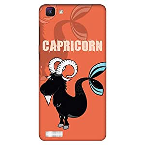 Mobo Monkey Designer Printed Back Case Cover for Vivo V1 (Capricorn :: Birth Sign :: Zodiac :: Astrology :: Sun Sign)
