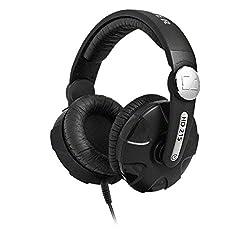 (CERTIFIED REFURBISHED) Sennheiser HD 215 II 504293 Closed Over-Ear Back Headphone with High Passive Noise Attenuation (Black)