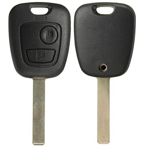 FeLiCia Zwei Knöpfe Remote-Full-Repair-Kit Schlüssel-Fob-Gehäuse Für Toyota Aygo