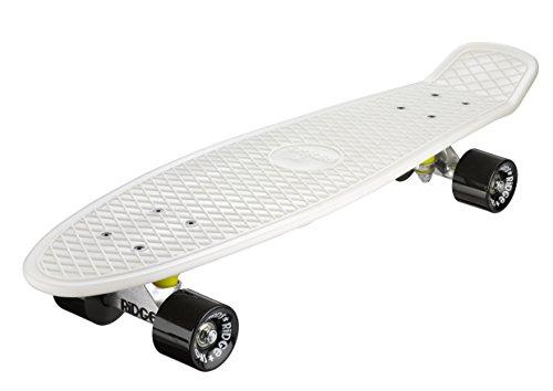 Ridge Skateboard Big Brother Nickel 69 cm Mini Cruiser, Glow/schwarz