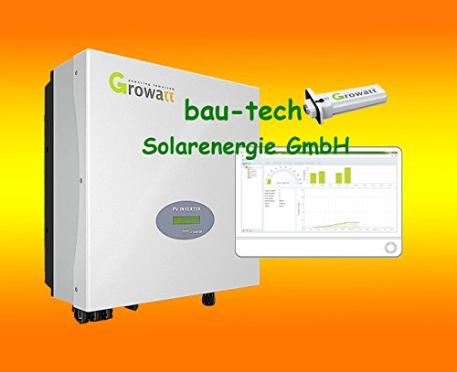 Growatt Netz Wechselrichter 1000TL inklusive WiFi Modul, Plug & Play von bau-tech Solarenergie GmbH