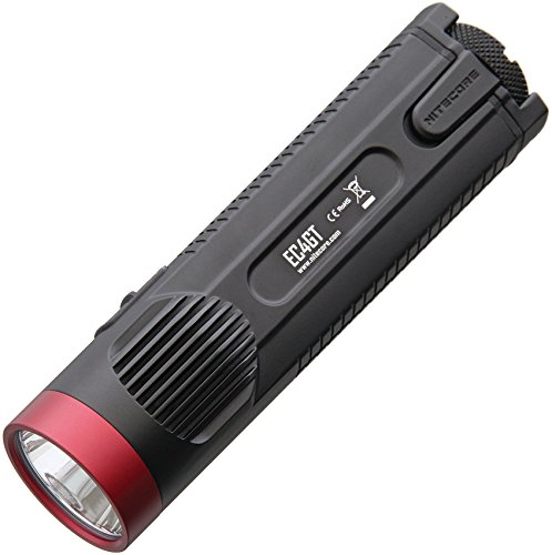 NiteCore EC4GT XP-L HI LED Taschenlampe 1000 Lumen limited Edition ROT