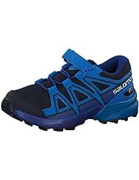 Salomon Boys' Speedcross CSWP K Low Rise Hiking Boots, Green, 11.5 Child UK