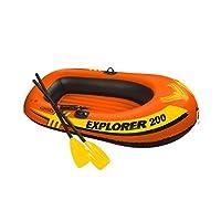 Intex Explorer 58331 Inflatable Boat, Orange