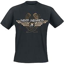 Amon Amarth Horns T-Shirt schwarz