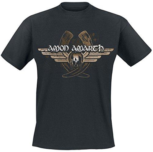 Amon Amarth Horns T-Shirt nero 4XL