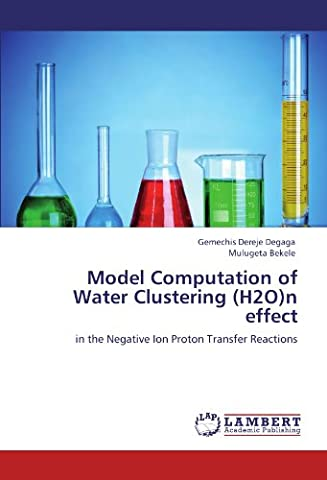 Model Computation of Water Clustering (H2O)n effect: in the Negative Ion Proton Transfer Reactions