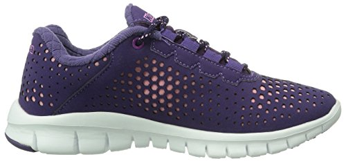Kappa Network Footwear Unisex, Synthetic/Mesh, Baskets Basses mixte adulte Multicolore - Mehrfarbig (2321 LILA/ROSE)