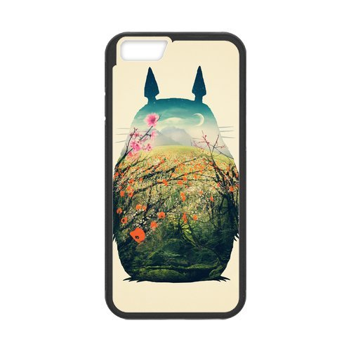 iPhone 6/iPhone 6S Case Coque, Screen Protector pour iphone6s, Anime Totoro Designs iPhone 6(4,7pouces) Case, iPhone 6/iPhone 6S Coque de protection Case