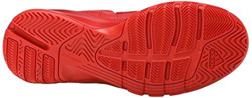 New Adidas D Howard 6 chaussure de basket noir / écarlate 6 Red/Red/Red
