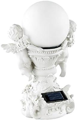 "Lunartec ""Engelsbrunnen"" mit Solar-LED-beleuchteter Kugel von Lunartec bei Lampenhans.de"