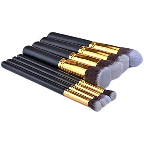 4pcs trucco cosmetici strumento ombretto Fondazione Pennello Set