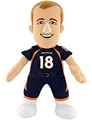 "NFL Denver Broncos Peyton Manning 10"" Plush Figure, Orange"