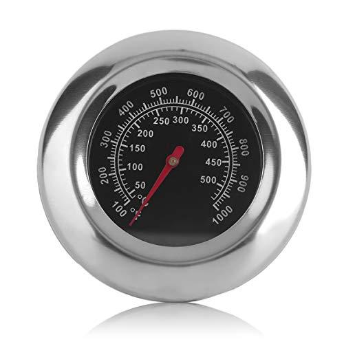 DoMoment Edelstahl Ofen Lebensmittel Kochen Backen Thermometer Temperaturanzeige Haushalt Küche BBQ Esszimmer Werkzeuge