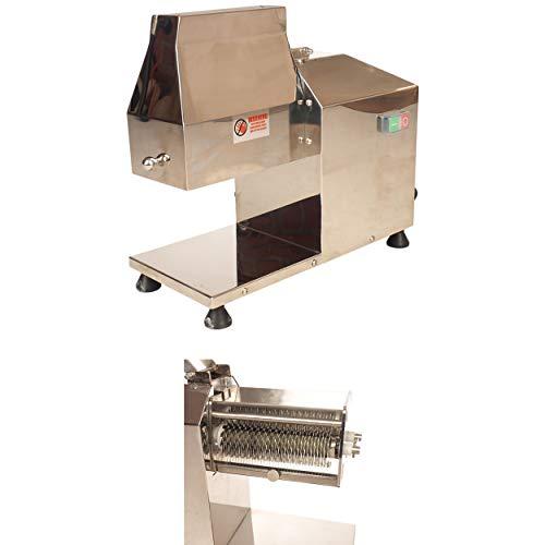 Steaker Fleisch-Plätter aus Edelstahl mit Maschine elektrisch, Steaker:Maschine mit Steaker