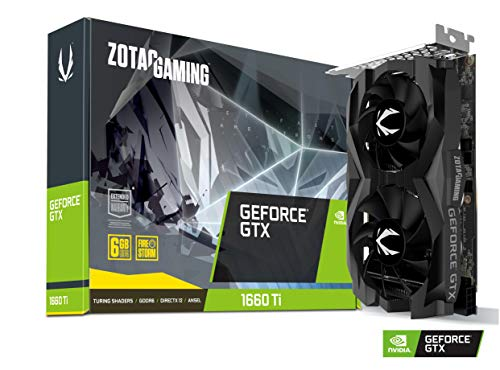 Zotac GeForce GTX 1660 Ti Twin Fan 6GB GDDR6 Graphic Card