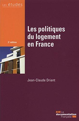 Les politiques du logement en France - 2e dition