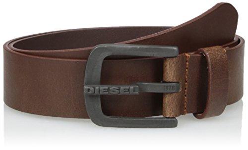 Diesel B-DART, Cinturón para Hombre, Marrón (Shopping Bag T2188/Pr227), 100