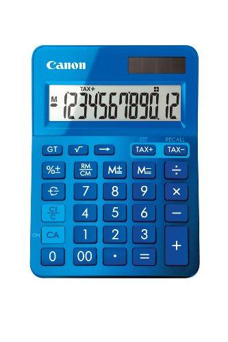Canon 9490B001AA Tischrechner LS-123K-MBL, blau