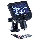 Xiao Jian- Visual 600 veces pantalla HD microscopio industrial folículo piloso lupa electrónica teléfono móvil placa base placa de circuito reparación video microscopio digital poros de la piel detect