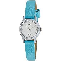 Timex Analog Silver Dial Women's Watch-TW000CS07