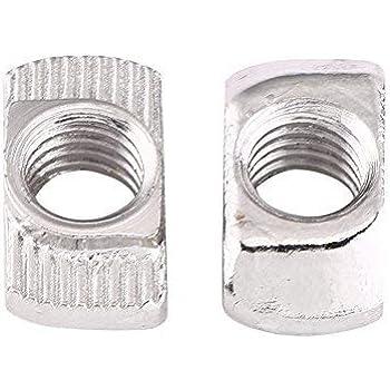 M6 rondelle di bloccaggio dado zincato Acciaio Dolce 6 mm HEX Dadi Di Bloccaggio