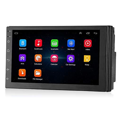 Wencaimd Bluetooth Autoradio 7-Zoll-Auto-Multimedia-Player Android 7.1 Bluetooth 4.0 FM/AM-Tuner FM GPS Auto-Multimedia-Player zum Autos Automobile