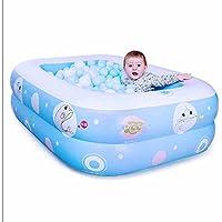FHK,vasca da bagno pieghevole Vasca da bagno per bambini gonfiabili di nuoto per bambini Barrel ispessita Vasca da casa gonfiabile Piscina del Tamburo di isolamento vasca da bagno gonfiabile, canna da bagno