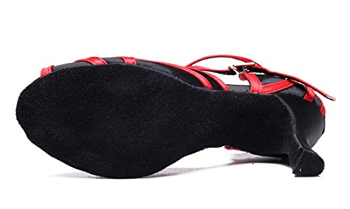 TDA - Ballroom donna Black Red