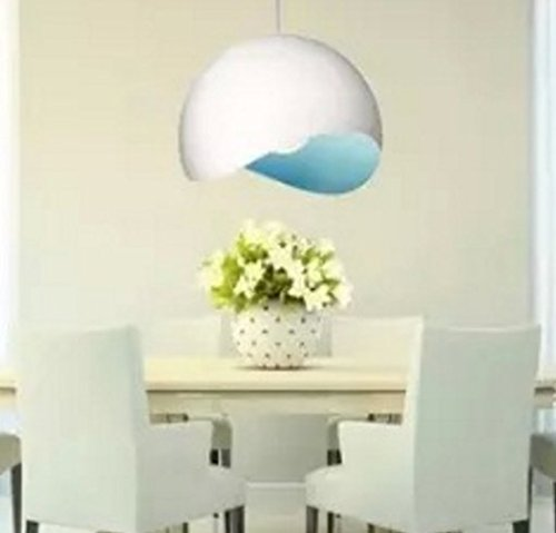 semplice-moderno-semi-creativo-guscio-duovo-tre-lampadari-ristorante-bar-studio-te-negozio-alluminio