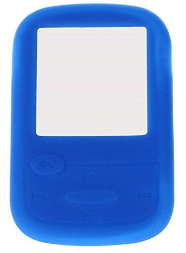 Silikonhülle für SanDisk Sans Clip Sport MP3-Player, Blau Pink Mp3 Sansa Clip