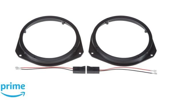 Vordert/ür Autoleads SAK-2820 Lautsprecheradapter f/ür Subaru f/ür 130-mm-Lautsprecher