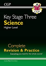 KS3 Science Complete Study & Practice - Higher (with Online Edit